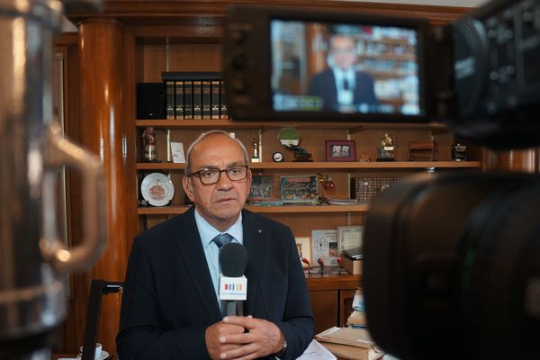 Le président de la République a rendu hommage à Fabien Thiémé, maire de Marly et ancien député du Nord.