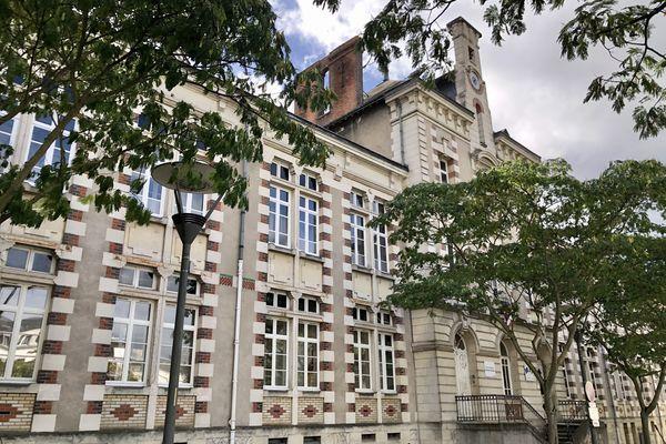 L'école primaire Buisson Molière à Tours.