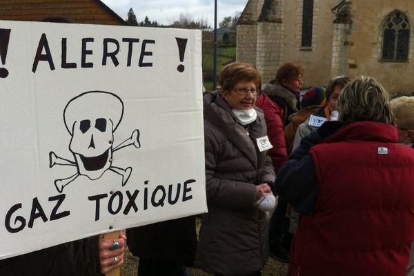 La décharge de Saint-Palais suscite l'inquiétude des habitants (Archives)