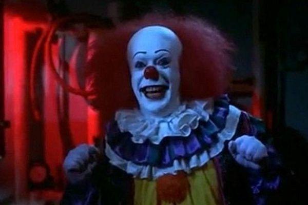 """Ça, le clown terrifiant imaginé par Stephen King et adapté au cinéma en 1990 dans le film """"Ça, 'Il' est revenu""""."""
