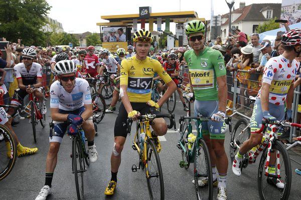 Les Hauts-de-France n'ont pas vu passer le Tour depuis 2016 et le départ de la dernière étape de Chantilly, dans l'Oise.
