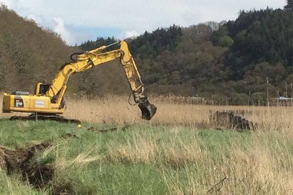 Affaire Troadec, des fouilles ont lieu à Pont-de-Buis-lès-Quimerch