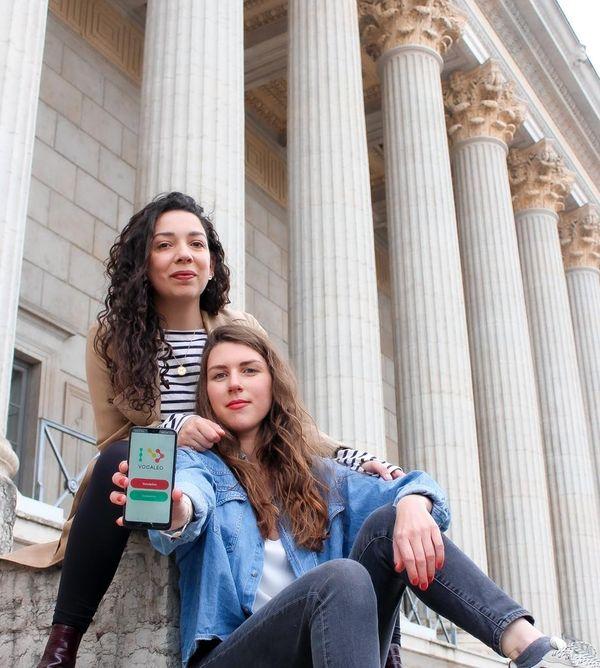 Les deux Marion ont fait ensemble des études de marketing digital à Lyon, avant de lancer leur start-up en 2021