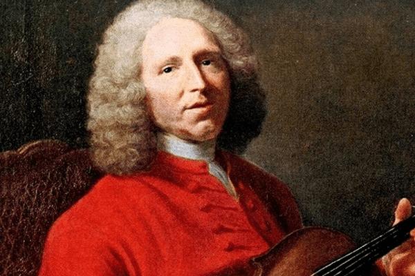 Jean-Philippe Rameau sous le pinceau de Jacques André Joseph Aved.