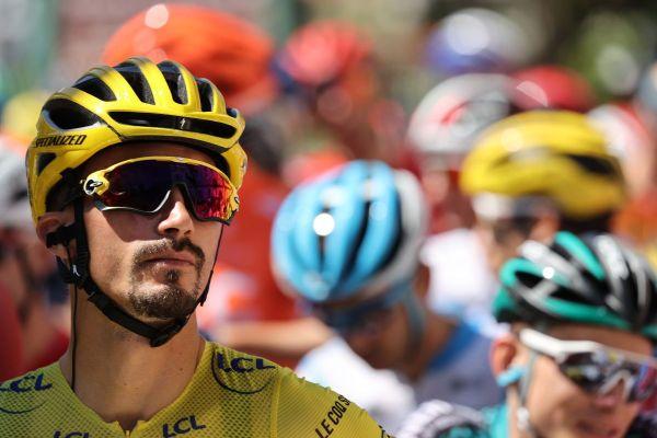 Après la 4e étape du Tour de France, Julian Alaphilippe est toujours en jaune.
