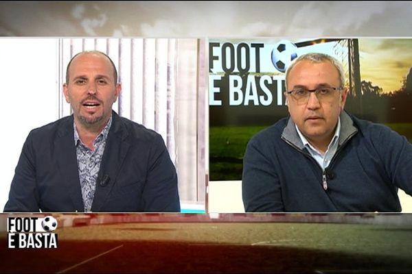19/05/16 - Olivier Miniconi, président du GFC Ajaccio était l'invité de Laurent Vincensini pour le dernier Foot è Basta de la saison.