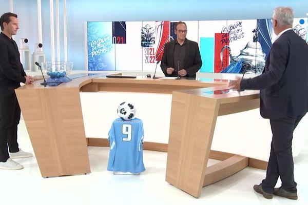 Le tirage au sort du 6e tour de la coupe de France de football dans le Grand Est.