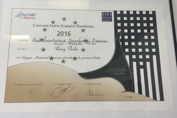 Une idée qui a valu de l'or au concours Lépine, à Strasbourg en 2016