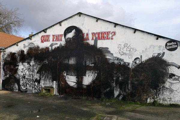 La fresque en hommage à Steve Caniço saccagée dans la nuit du 17 au 18 février 2020