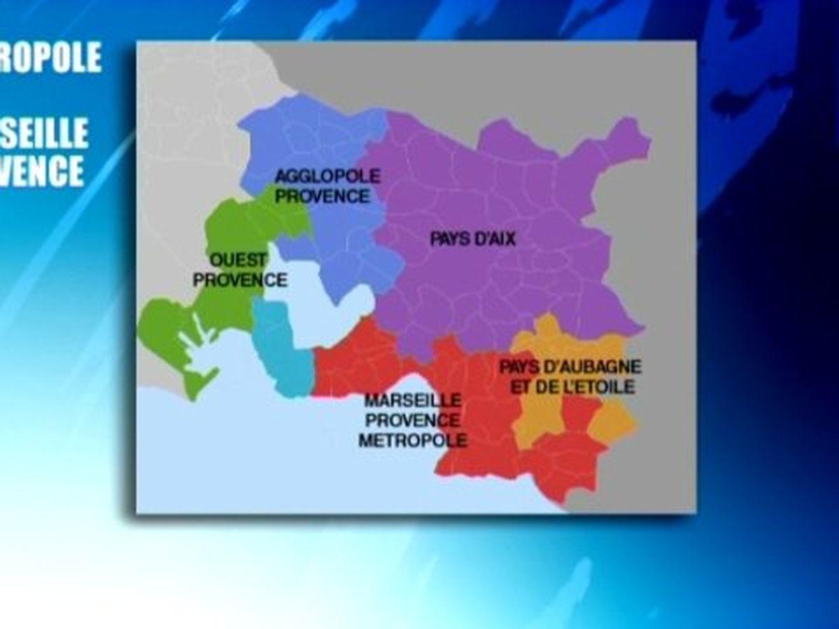 La Metropole Aix Marseille Provence Perd 2500 Habitants Chaque Annee