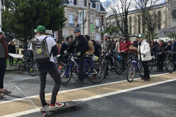 Vélorution organisée à Margny-les-Compiègne dans l'Oise samedi 16 mars 2019