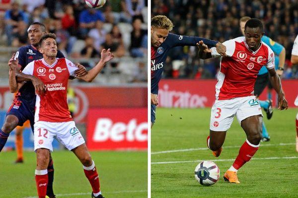 Blessés, l'attaquant du Stade de Reims Pablo Chavarría et le latéral gauche Ghislain Konan seront absents pour plusieurs semaines.