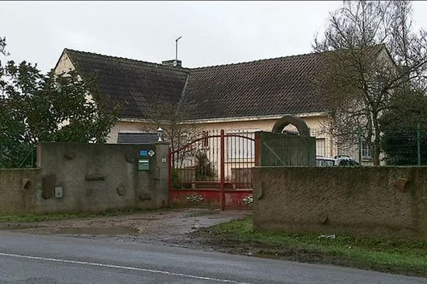 La ferme où Roland Maillard, 68 ans, a été retrouvé mort, tué de deux coups de fusil