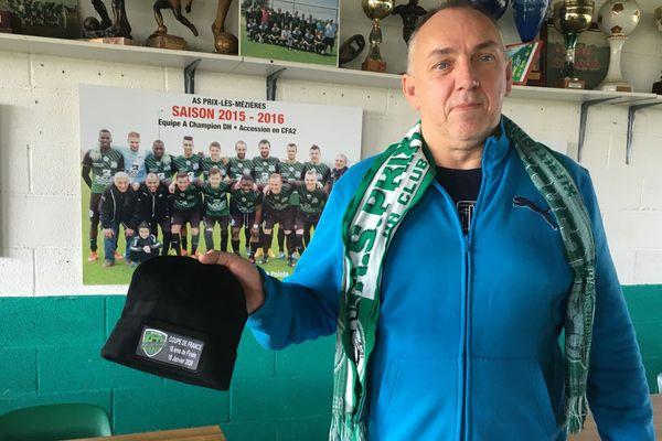 Les inconditionnels du club de Prix les Mézières sont prêts pour la grande fête du foot samedi 18 janvier au stade du petit bois à Charleville-Mézières