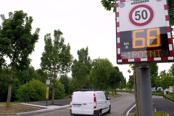Toulouse : 40 nouveaux radars pédagogiques vont être installé en centre-ville