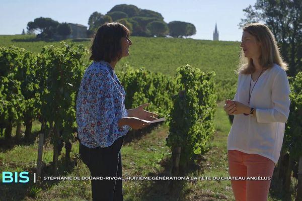 BIS, le magazine de la curiosité à Saint-Émilion avec Stéphanie de Boüard-Rivoal