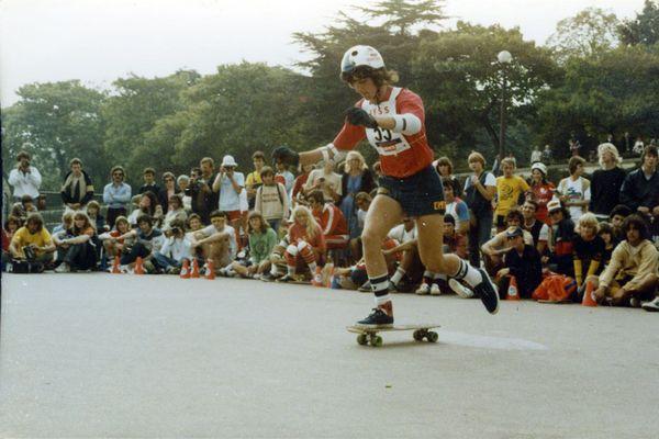 Les internationaux au Trocadéro, en 1978.