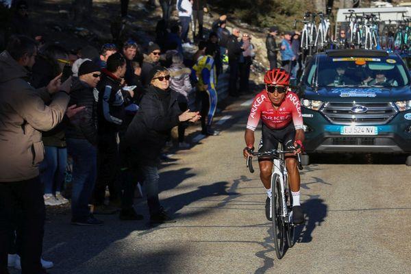 Nairo Quintana (Arkéa Samsic) dans la troisième étape du Tour de la Provence Istres - Mont Ventoux