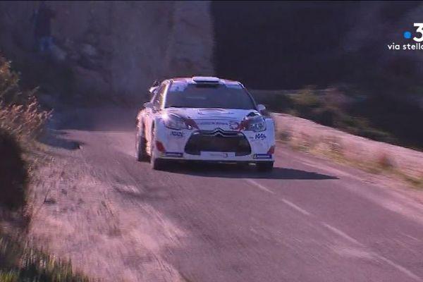 Samedi 15 décembre, Pascal Trojani a remporté la 21e édition du rallye de Balagne.