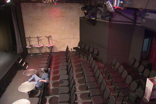 Les salles désespérément vides comme ici le théâtre des Beaux-Arts à Bordeaux.