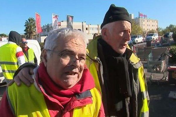 Maurice est un gilet jaune. Il manifeste à Montpellier. Comme d'autres manifestants, il est déçu des annonces du Président de la République.