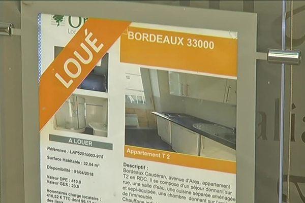 Tout est loué, peu de logements disponibles sur le marché bordelais alors que des étudiants cherchent toujours à se loger.