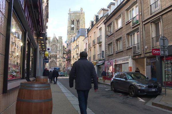 Dieppe : les commerces de la rue Saint-Jacques (Archives)