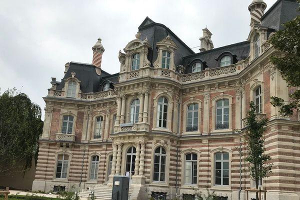 Le château Perrier à Epernay comme écrin du futur musée du Champagne
