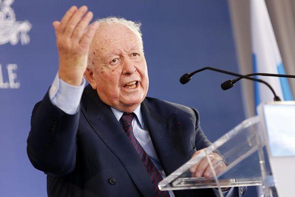 Jean-Claude Gaudin le 22 janvier dernier lors des voeux à la presse.