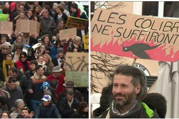 Près de 4.000 personnes ont participé à la marche pour le climat à Nancy.