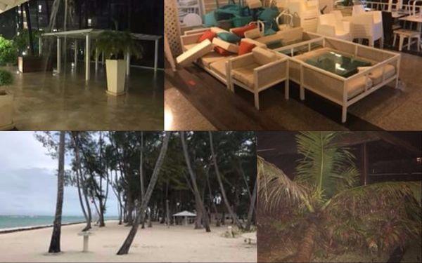 Dans un hôtel de Punta Cana.