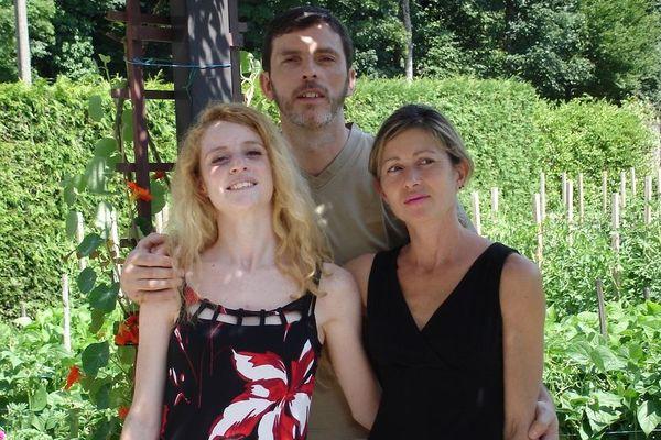 Carlyne, Christian et Patricia Bouchon.