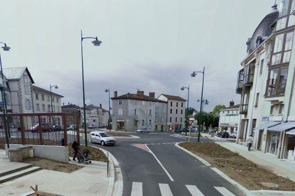 Rue Julien Rigaud à Saint-Junien