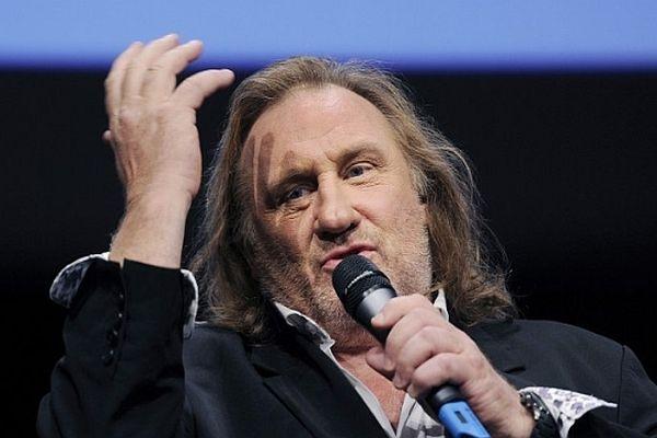 Le comédien et homme d'affaires Gérard Depardieu en mai 2011