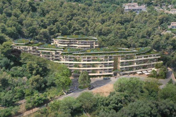 Ce projet immobilier est situé dans le quartier Grima à Beausoleil.