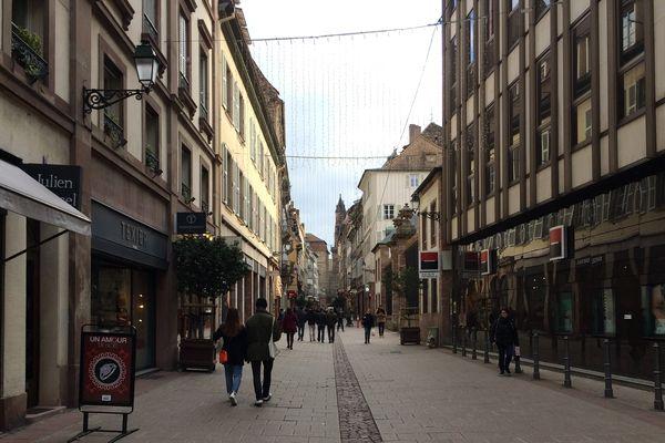 La rue du dôme, Strasbourg, J moins 5