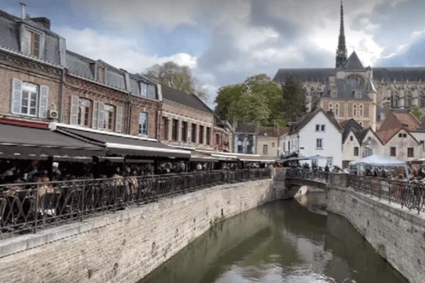 A Saint-Leu, les terrasses étaient prises d'assaut le jour de la réouverture