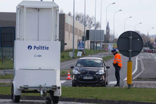 Les contrôles s'intensifient à la frontière Belge.