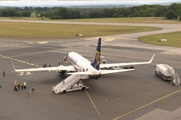 Mardi 17 juillet 2018, le boeing 737 de Ryanair en provenance de Londres comptait à son bord 189 passagers, pour 189 places.