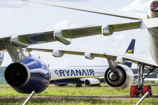 Durant cet hiver, à Toulouse, les avions de Ryanair vont rester cloués au sol.