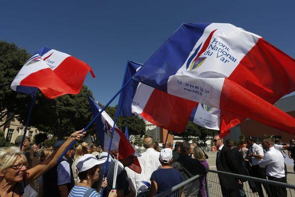Lors de l'université d'été à Marseille le week-end dernier.
