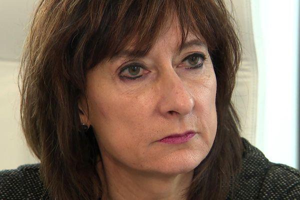 Valérie Cabuil, rectrice de l'académie de Lille.