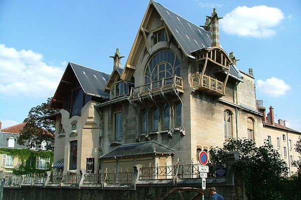 Extérieur de la Villa Majorelle - Nancy (Meurthe et Moselle)