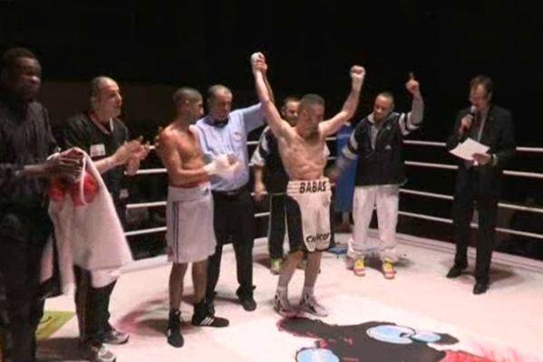 Victoire de Bastien Rozeaux il devient champion de France poids plume