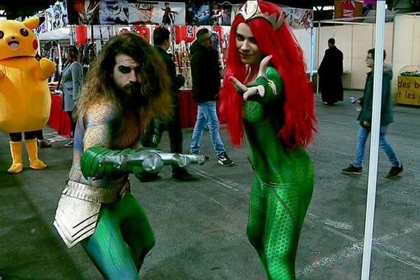 Les cosplayeurs sont toujours très appréciés ce genre d'événement.