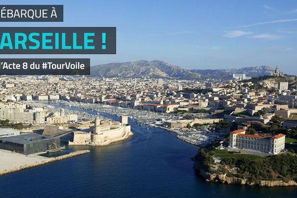 Le Tour de France à la voile à Marseille