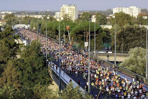 Le marathon de Toulouse en 2017