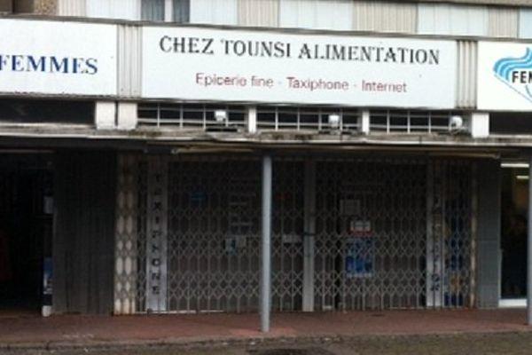 Épicerie du quartier Bréquigny de Rennes où a eu lieu une perquisition le 22 avril 2014