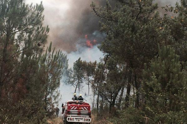 Sept reprises de feu ont eu lieu dans l'après-midi de samedi.