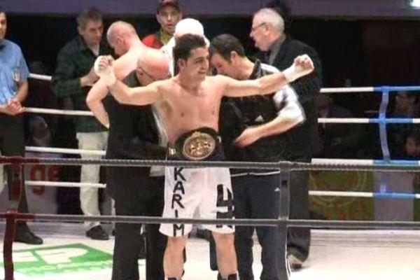 Karim Achour avait été sacré champion de France des poids moyens en février 2012